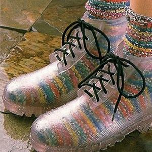 transparan ayakkabılar nerede bulunur