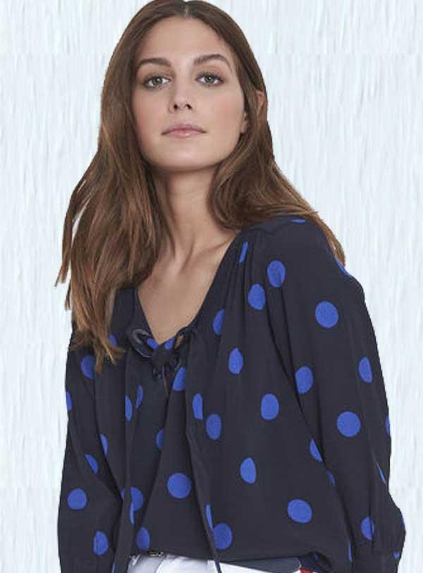 Puantiye modası Bu Yazın Favori Deseni Polka-Dot